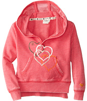 Roxy Kids - Falling Heart Hoodie (Toddler/Little Kids)