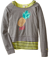 Roxy Kids - Cool Pineapple Twofer Tee (Little Kids/Big Kids)