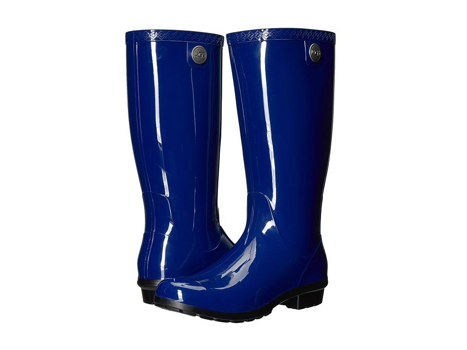 UGG - Shaye (Blue Jay) Women's Rain Boots