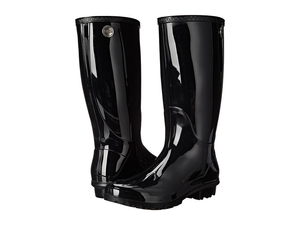 UGG Shaye (Black) Women's Rain Boots