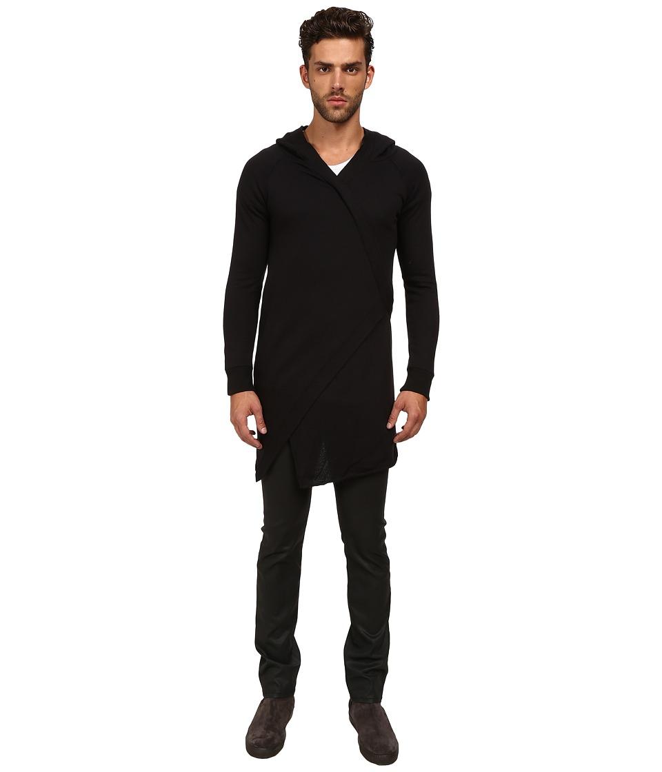 MISANTHROPE Kimono Black Mens Sweater