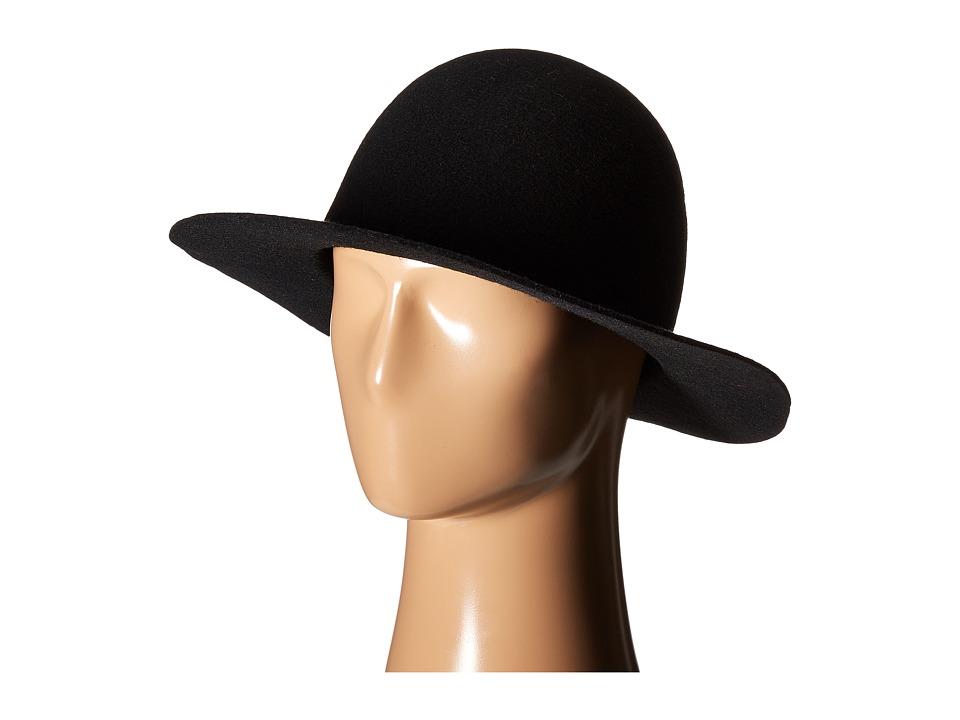 MISANTHROPE Fedora Black Fedora Hats