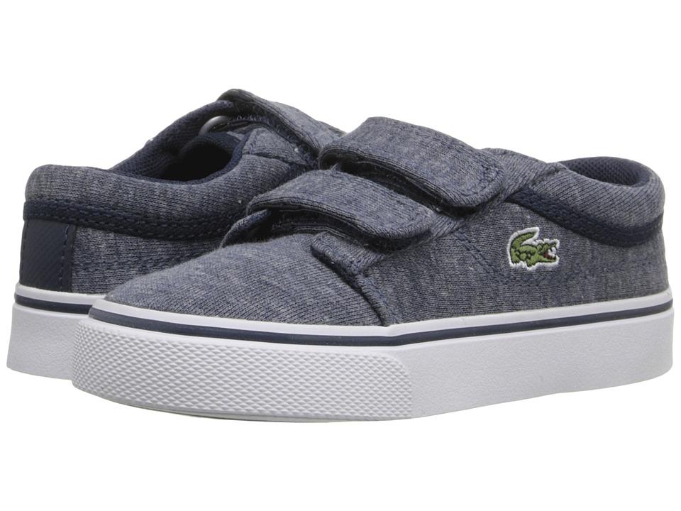 Lacoste Kids Vaultstar 116 1 SP16 Toddler/Little Kid Navy Kids Shoes