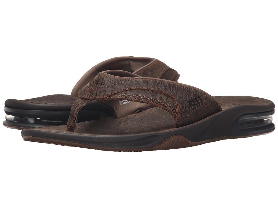 Reef Fanning Ultimate Brown/Dark Brown 2 Mens Sandals