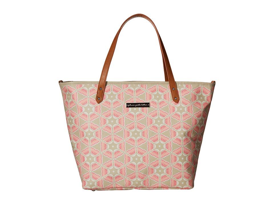 petunia pickle bottom - Glazed Downtown Tote (Blooming Brixham) Tote Handbags