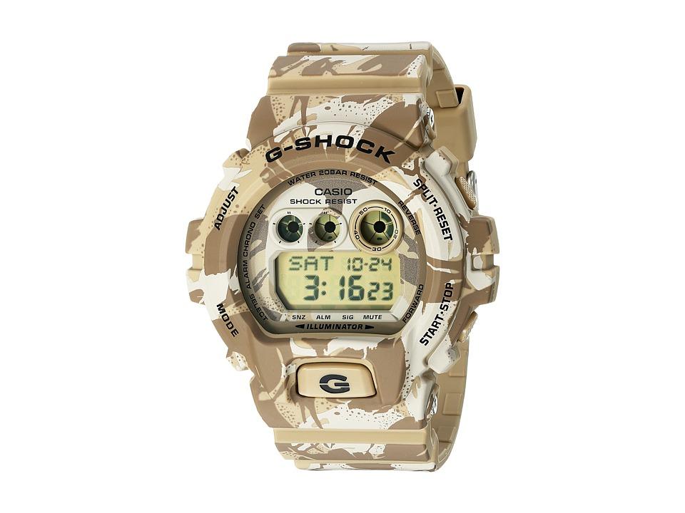 G Shock GD X6900MC Brown Watches