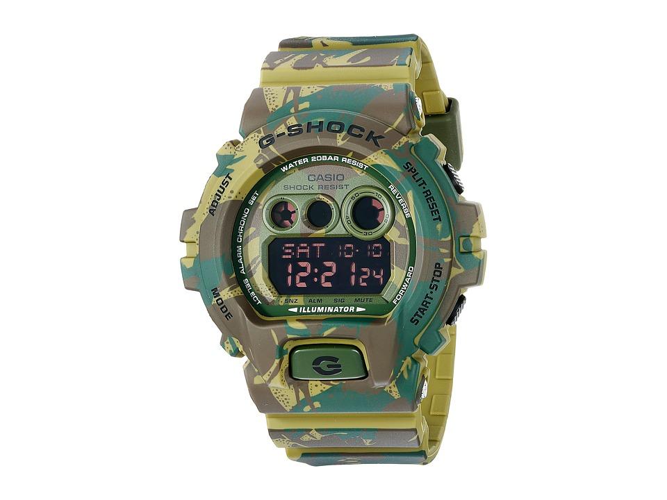 G Shock GD X6900MC Green Watches