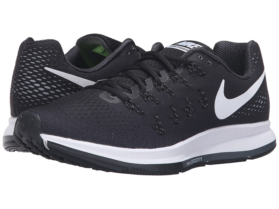 Nike - Air Zoom Pegasus 33 (Black/Cool Grey/Wolf Grey/White) Men