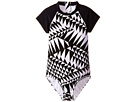 Seafolly Kids Pool Party Short Sleeve Surf Tank One-Piece