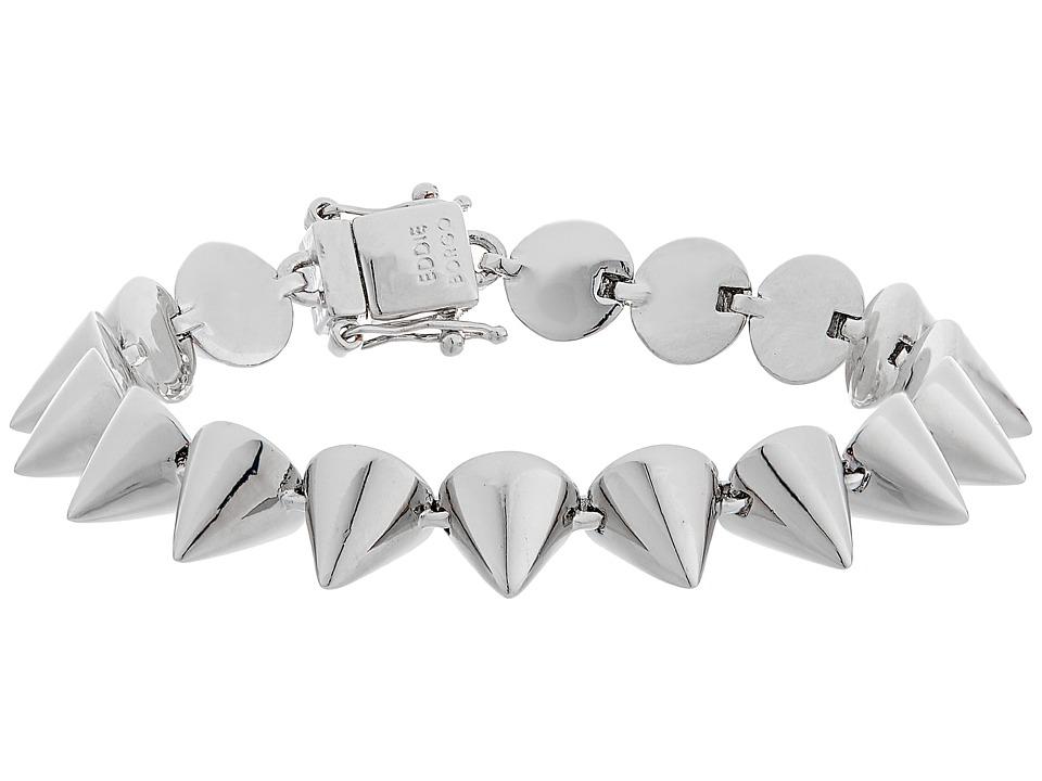 Eddie Borgo Small 17 Cone Bracelet Silver Bracelet