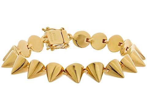 Eddie Borgo Small 17 Cone Bracelet - Gold
