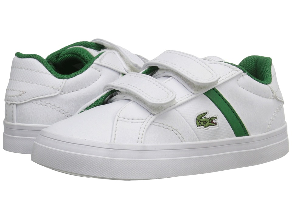 Lacoste Kids Fairlead 116 1 SP16 Toddler/Little Kid White Kids Shoes