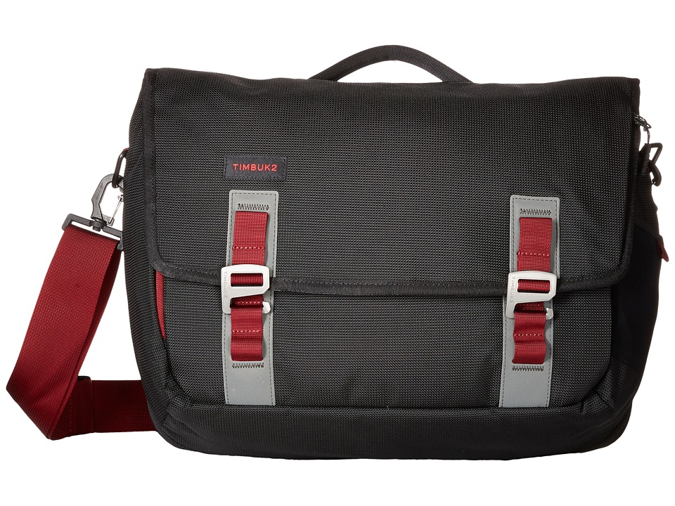 Timbuk2 - Command Messenger - Small (Black/Red Devil) Messenger Bags
