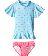 Seafolly Kids - Rainbow Chaser Sunvest Set (Infant/Toddler/Little Kids)