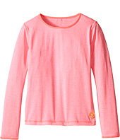 Seafolly Kids - Neon Pop Long Sleeve Rashguard (Little Kids/Big Kids)