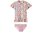 Seafolly Kids Seaside Lane Sunvest Set
