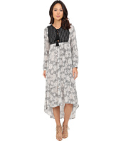 Brigitte Bailey - Evelyn Printed Maxi Dress with Tassels