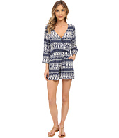 Brigitte Bailey - Stella Printed Long Sleeve Romper