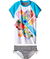 Seafolly Kids - Tropical Splice Surf Set (Little Kids/Big Kids)