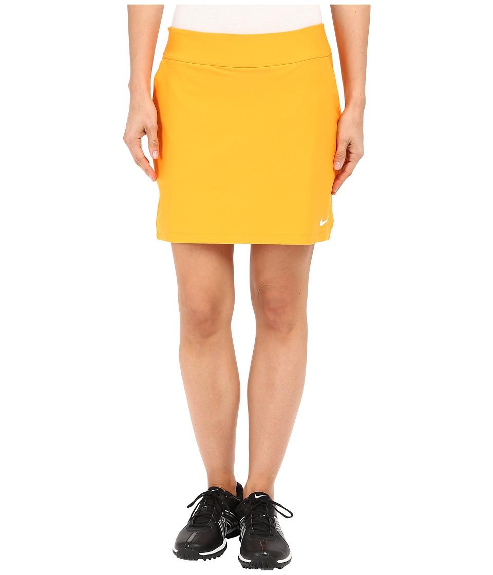 Nike Golf Tournament Knit Skort Vivid Orange/White Womens Skort