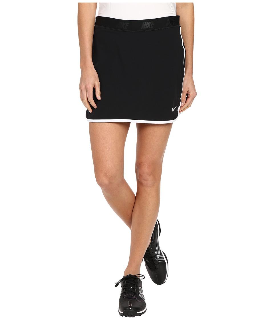 Nike Golf Fringe Flip Skort Black/Metallic Silver Womens Skort