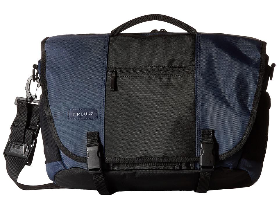 Timbuk2 - Commute Messenger Bag - Small (Dusk Blue/Black) Messenger Bags