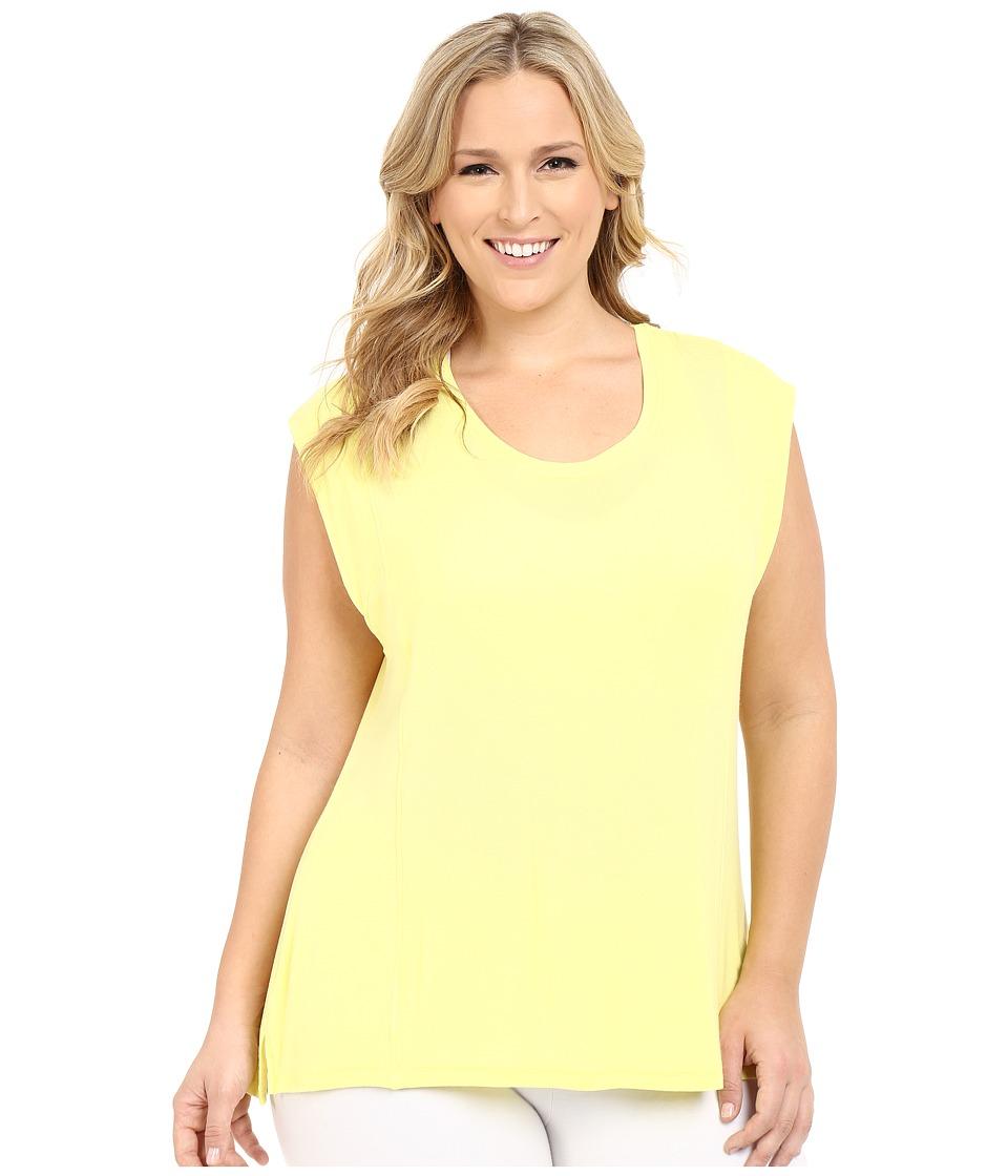Marika Curves Plus Size Caitlyn Tee Limelight/Limelight Womens T Shirt