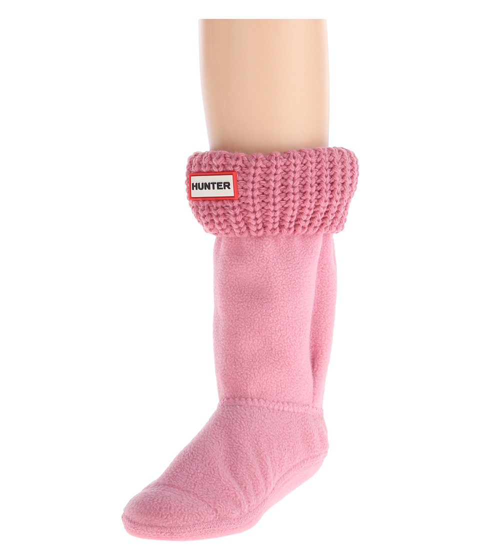 Hunter Kids Half Cardigan Boot Sock Toddler/Little Kid/Big Kid Fondant Pink Girls Shoes