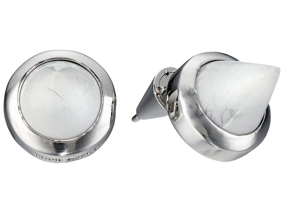 Eddie Borgo Gemstone Cone Studs Silver 2 Earring