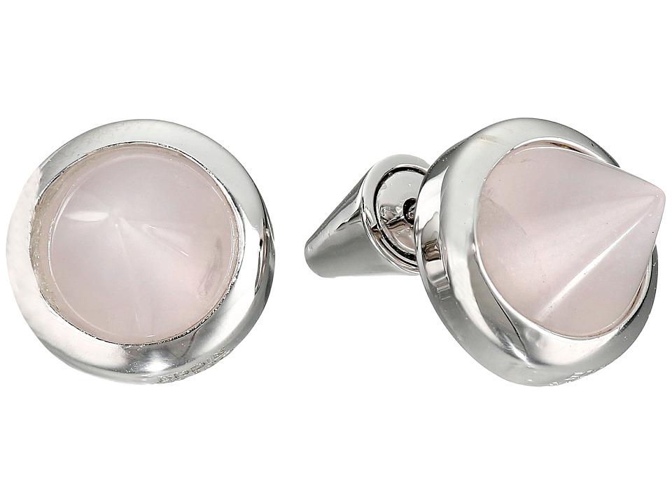 Eddie Borgo Gemstone Cone Studs Silver Earring