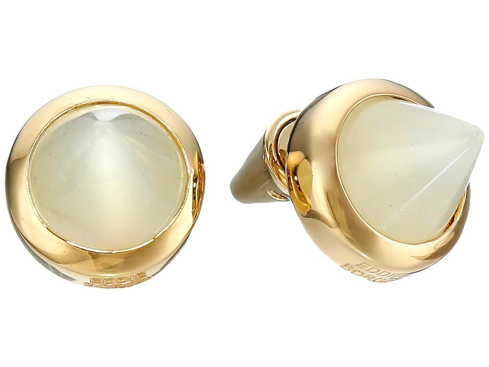 Eddie Borgo Gemstone Cone Studs Gold Earring