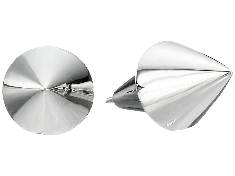 Eddie Borgo Cone Stud Earrings Silver Earring