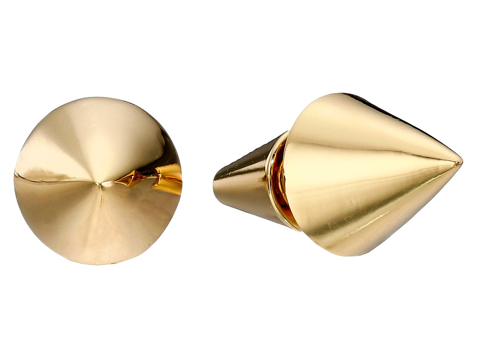 Eddie Borgo Cone Stud Earrings Gold Earring