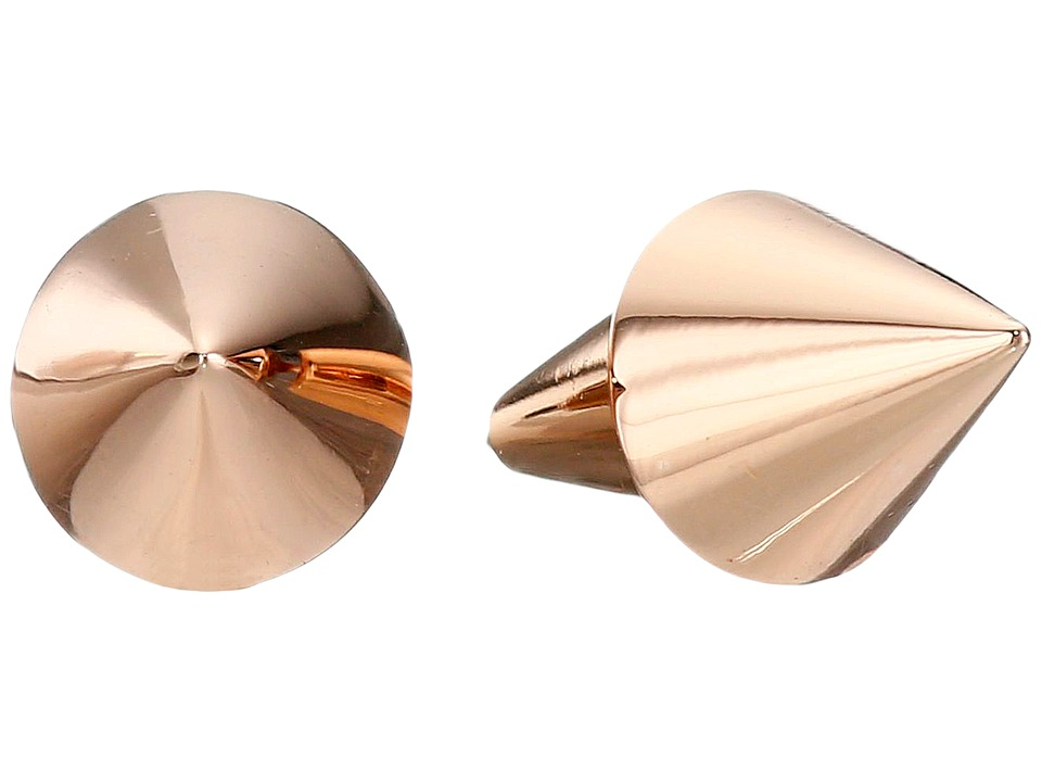 Eddie Borgo Cone Stud Earrings Rose Gold Earring