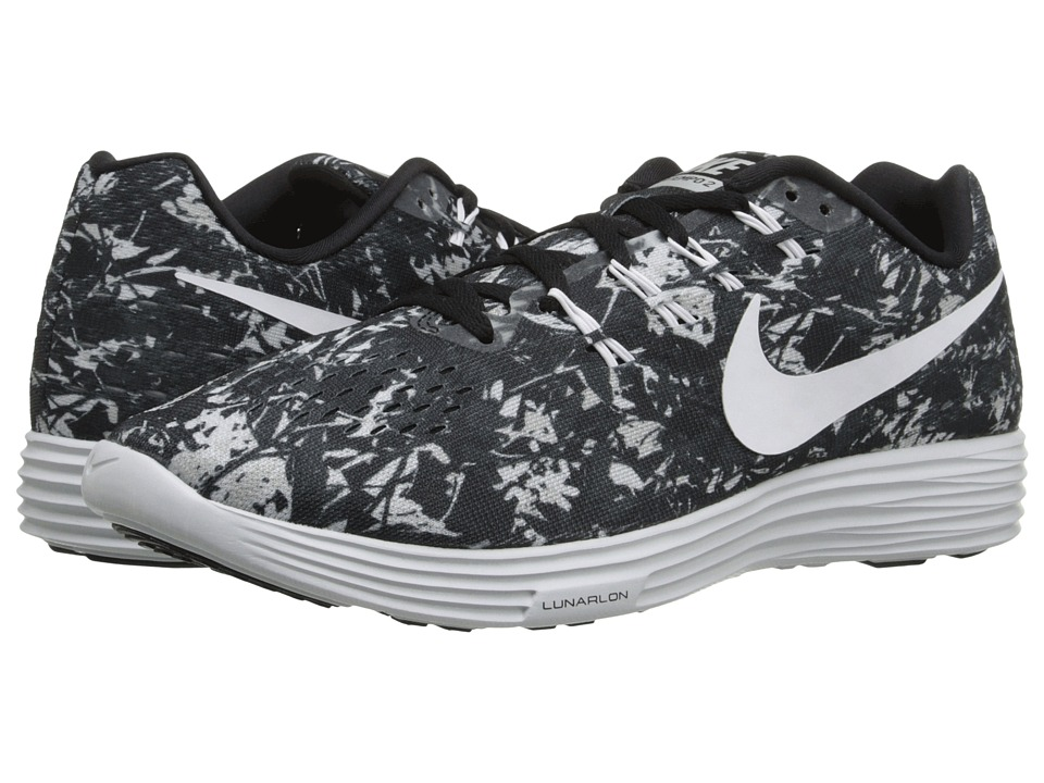 Nike Lunartempo 2 Print Black/Pure Platinum/Wolf Grey/White Mens Running Shoes