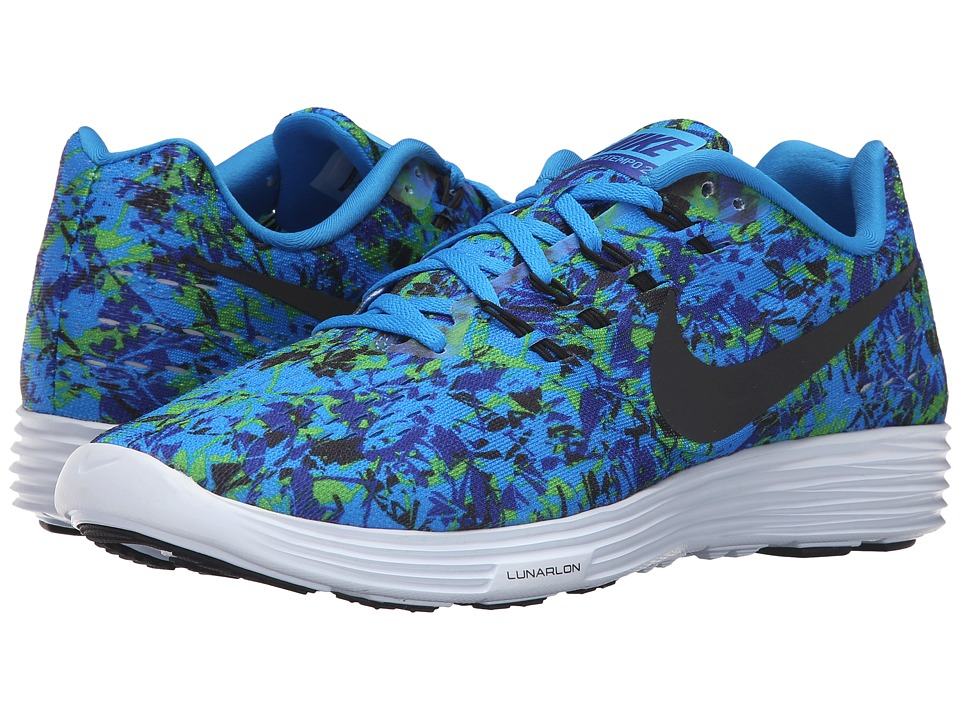 Nike Lunartempo 2 Print Photo Blue/Concord/Electric Green/Black Mens Running Shoes