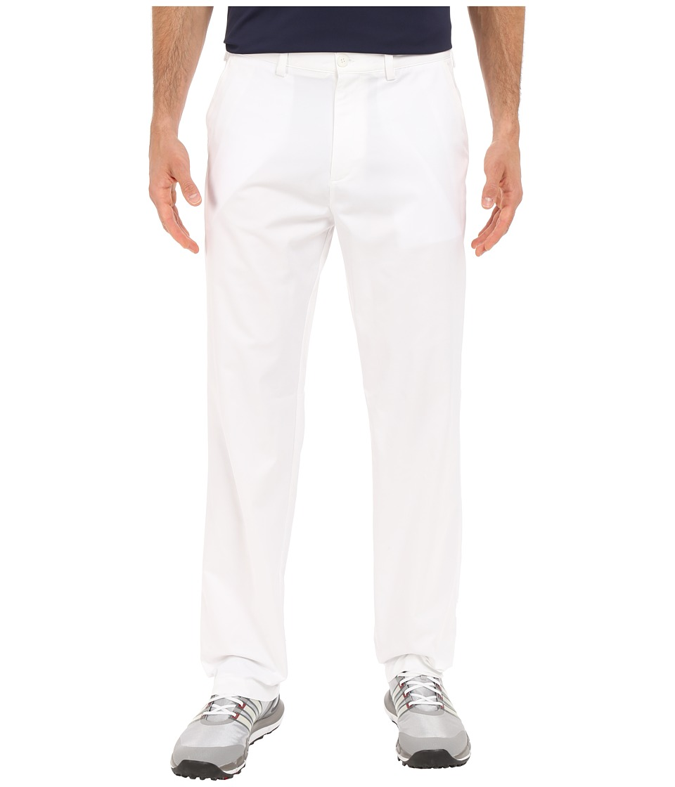 adidas Golf CLIMALITE Relaxed Fit Pants White Mens Casual Pants