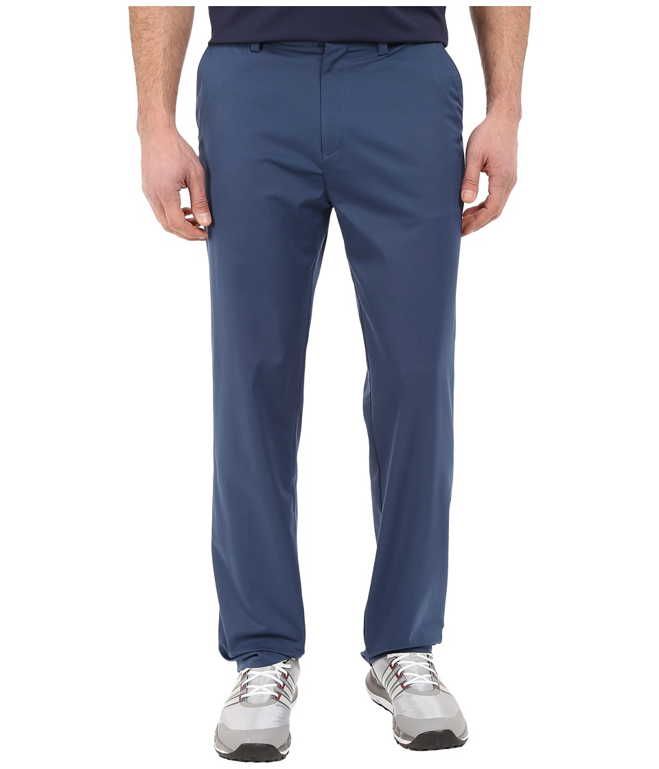 adidas Golf CLIMALITE Relaxed Fit Pants Mineral Blue Mens Casual Pants