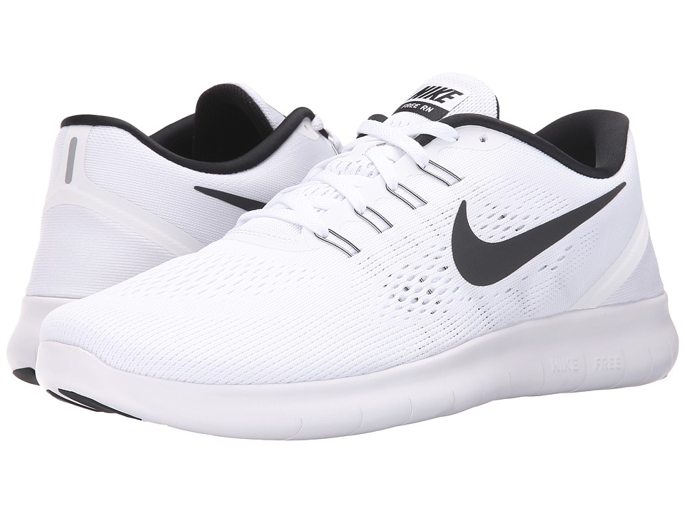 Nike - Free RN (White/Black) Men