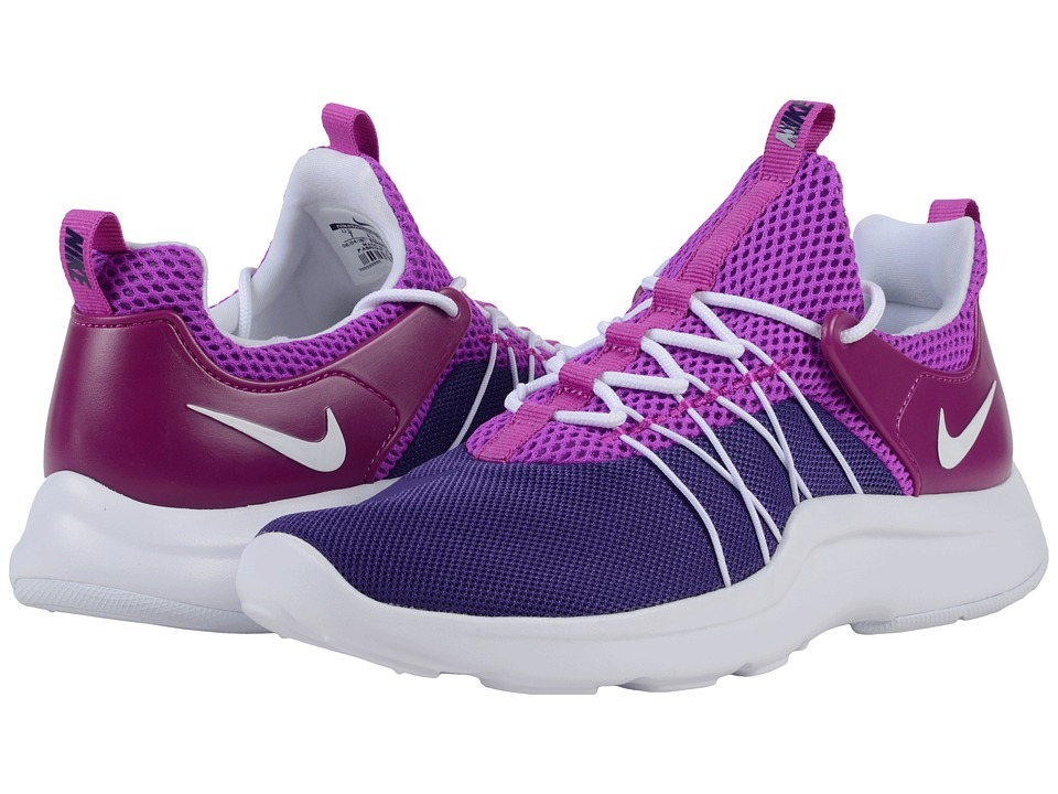 Nike Darwin Court Purple/White/Hyper Violet Womens Running Shoes