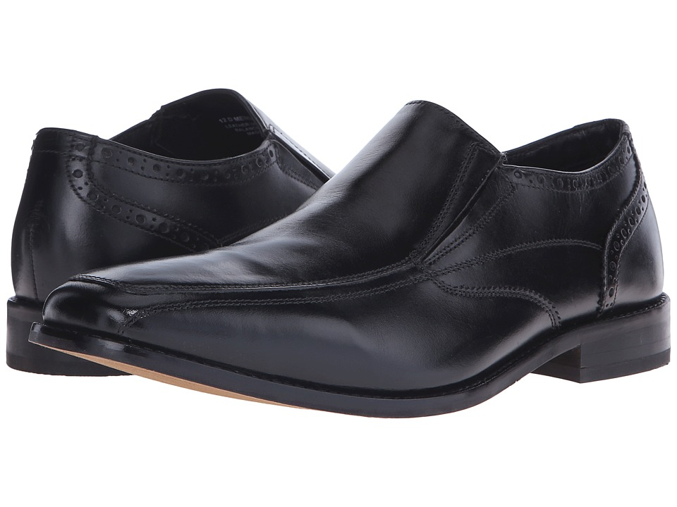 Florsheim - Castellano Moc Toe Slip-On (Black Smooth) Men