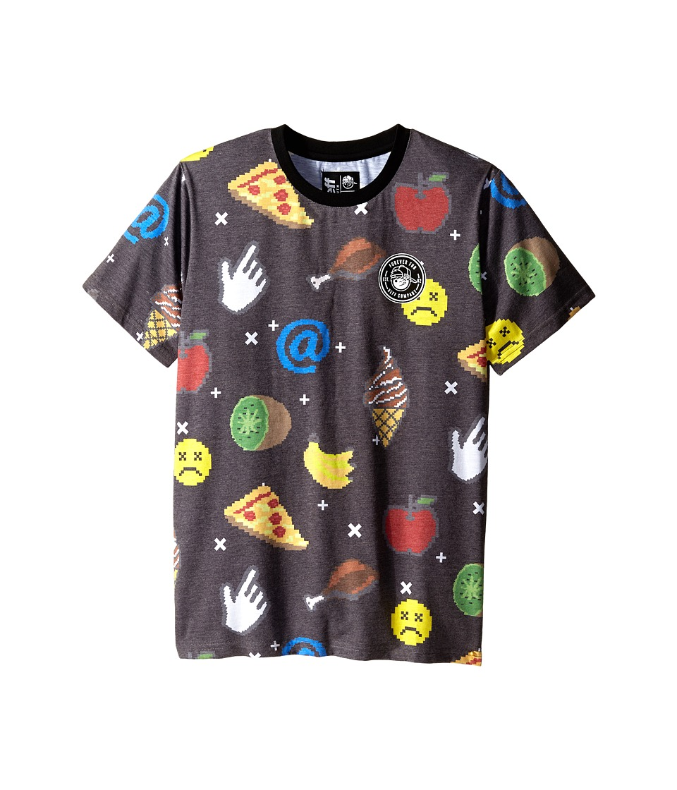 Neff Kids Digytize Tee Big Kids Black Boys T Shirt