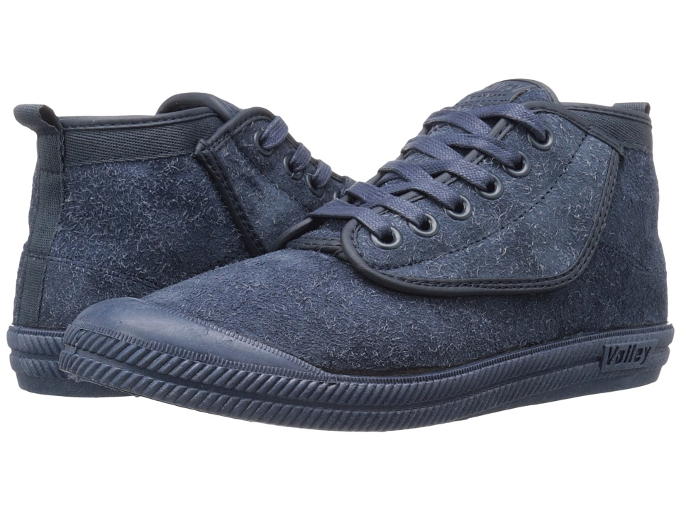 Volley Australia High Leap Hairy Suede Navy/Navy/Navy Mens Shoes