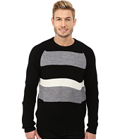 Kenneth Cole Sportswear - Stripe Block Crew