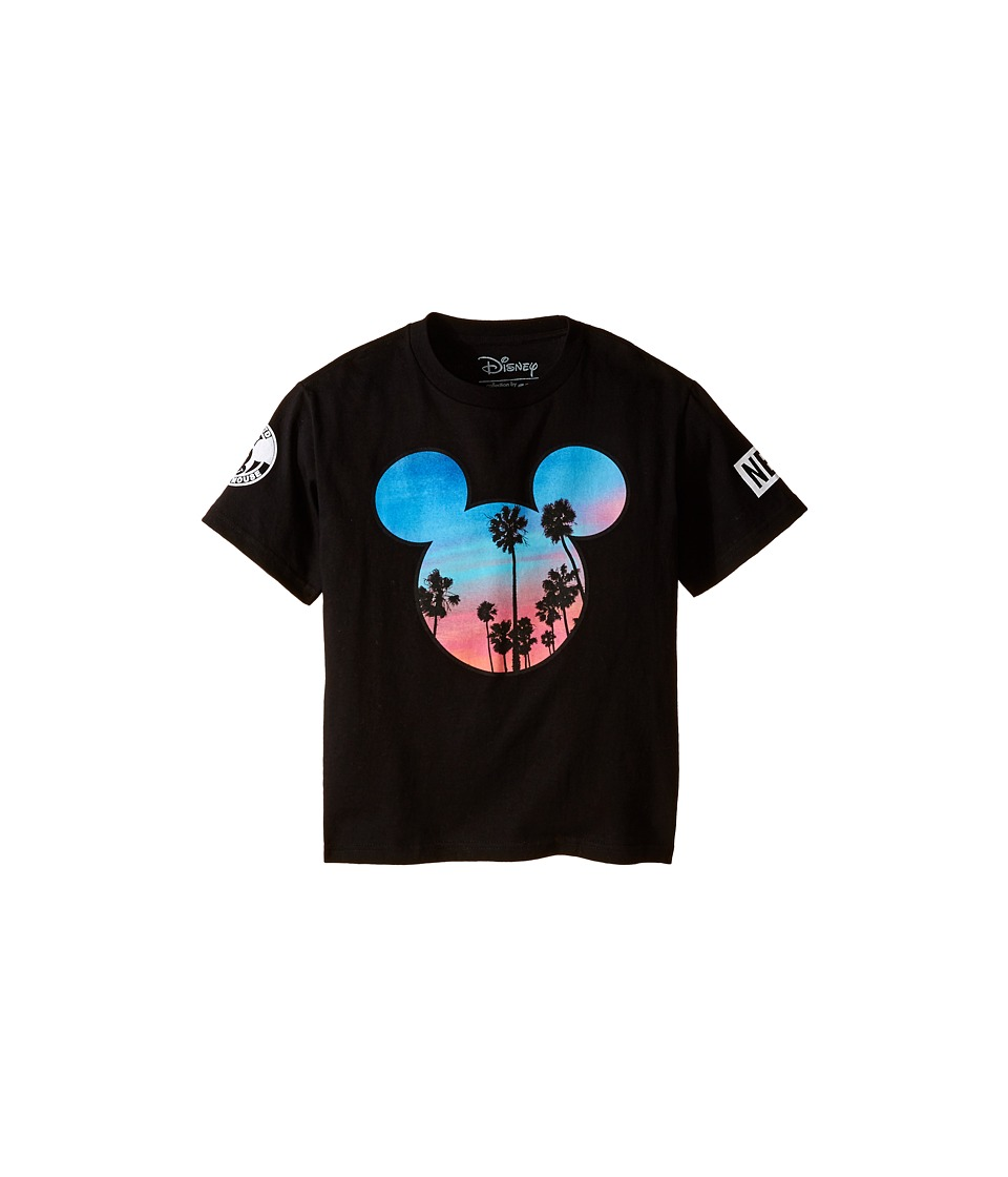 Neff Kids Palms Mickey Prime Tee Big Kids Black Boys T Shirt