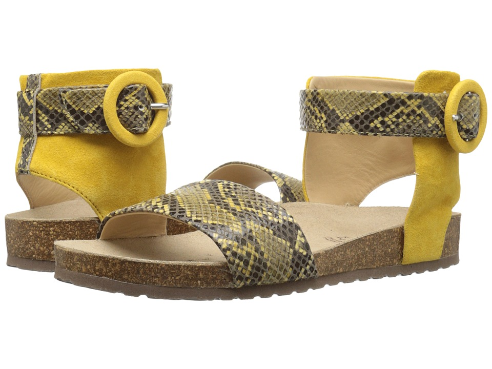Geox WZAYNA3 (Ochre Yellow) Women