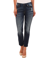 7 For All Mankind - Cropped High Waist Vintage Straight in Icelandic Blue