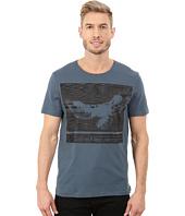 Calvin Klein Jeans - Textured Eagle Crew Neck Tee