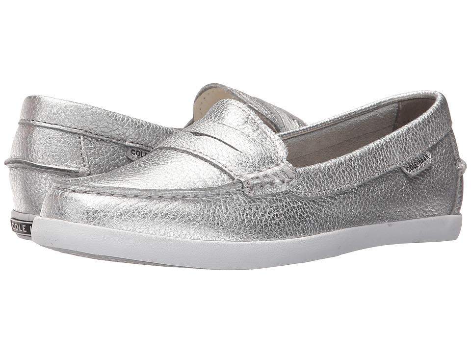 Cole Haan Pinch Weekender (Argento Metallic Leather) Slip-On Shoes