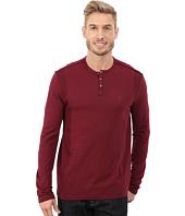 Calvin Klein Jeans - Long Sleeve Garment Dye Slub Henley